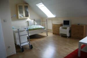 Zimmer 1 - Schlafbereich